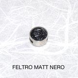 Feltro Matt Nero