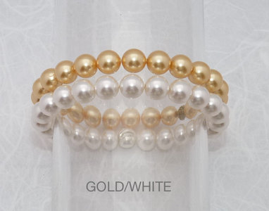 Shiny Gold/White
