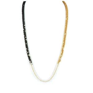 Gold/Black & Pearl